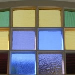 1890's stained glass, restored
