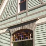 Exterior Side (glass reglazed)