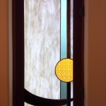 Powder room window for complete privacy